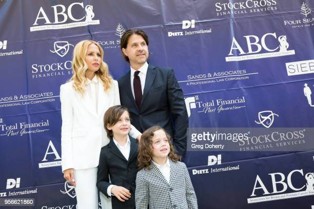 Rachel Zoe Roger Berman Kaius Berman and Skyler Morrison Berman attend the ABCs Annual Mother's Day Luncheon at the Beverly Wilshire Four Seasons...