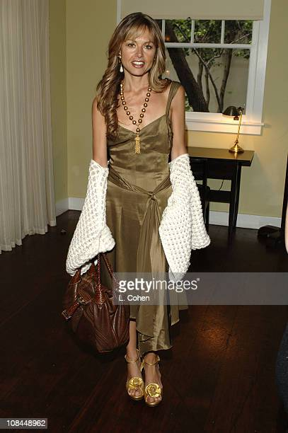 Rachel Zoe Rosenzweig during Moschino 2005 Fall Fashion Show and Luncheon at Chateau Marmont in Los Angeles California United States