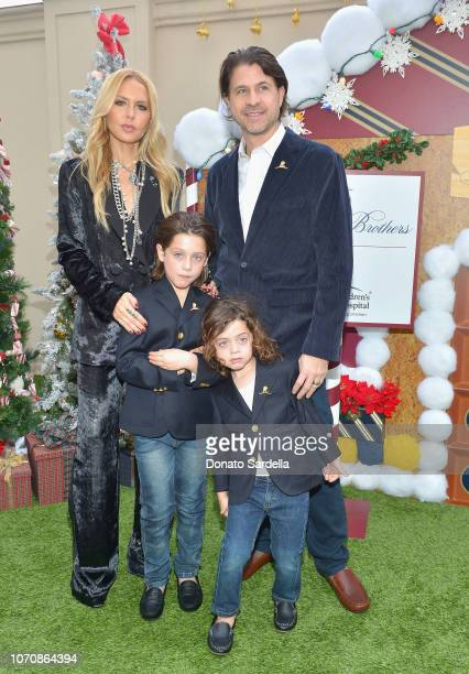 Rachel Zoe Skyler Morrison Berman Kaius Jagger Berman and Rodger Berman attend the Brooks Brothers and St Jude Children's Research Hospital Annual...