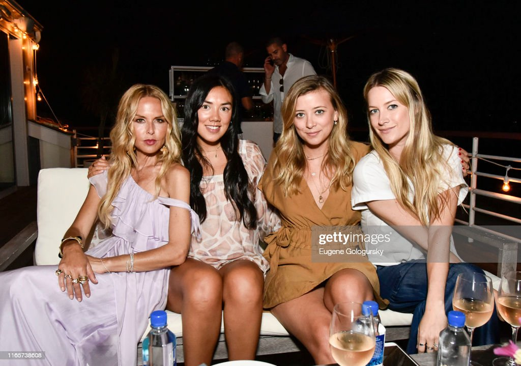 Rachel Zoe Collection Summer Dinner At Moby's East Hampton With FIJI Water, Tanqueray, And AUrate : News Photo