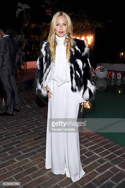 Rachel Zoe wearing Bally attends Bally Dinner celebrating Beverly Hills flagship store opening in support of Communities in Schools on April 21 2016...