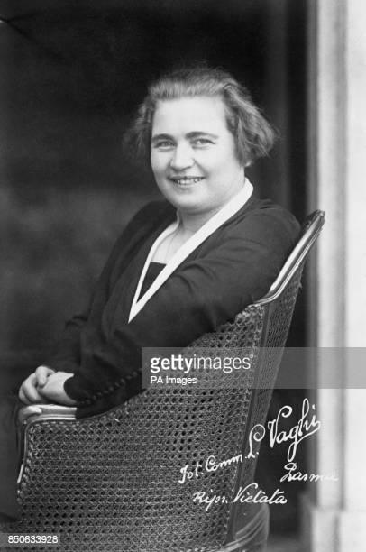 Rachele Mussolini wife of Italy Head Benito Mussolini
