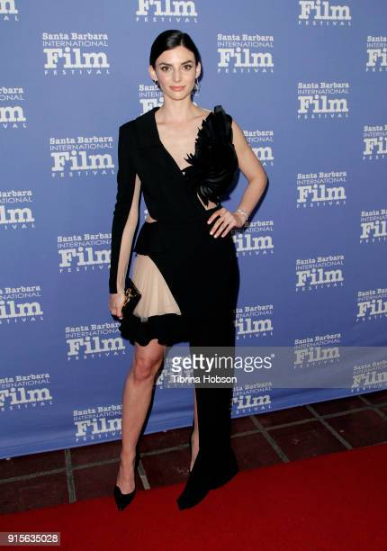 Rachele Schank attends the 33rd annual Santa Barbara International Film Festival American Riviera Award presentation at Arlington Theatre on February...