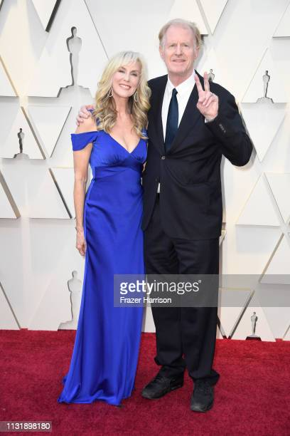 Rachelle Carson and Ed Begley Jr attend the 91st Annual Academy Awards at Hollywood and Highland on February 24 2019 in Hollywood California
