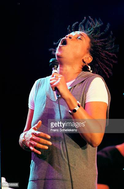 Rachelle Ferrell performs live on stage at the North Sea Jazz Festival in The Hague, Netherlands on July 09 1999