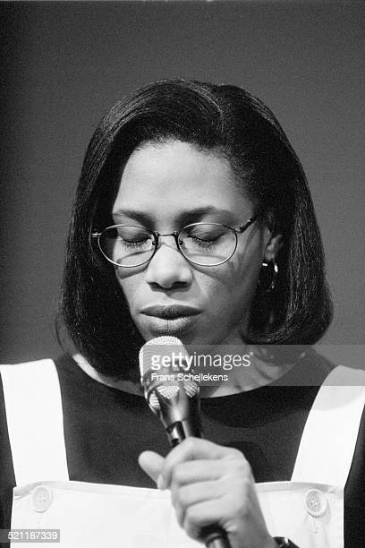 Rachelle Ferrell, singer, performs on July 9th 1993 at the North Sea Jazz Festival in the Hague, Netherlands.