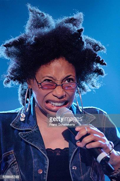 Rachelle Ferrell, vocal, performs at the North Sea Jazz Festival on July 16th 2001 in Amsterdam, Netherlands.