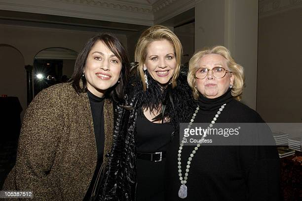 Rachelle Fleming Renee Fleming and Barbara Cook during Renee Fleming Book Release Party 'The Inner Voice The Making of a Singer' at The Georgian...