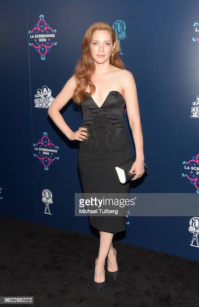 Rachelle Lefevre attends the 20th Century Fox 2018 LA Screenings Gala at Fox Studio Lot on May 24 2018 in Century City California