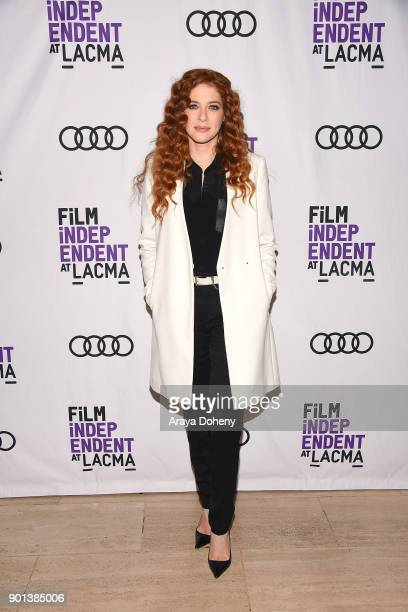 Rachelle Lefevre attends the Film Independent at LACMA presents 'Phillip K Dick's Electric Dreams' at Bing Theater At LACMA on January 4 2018 in Los...