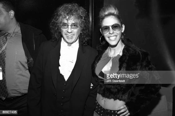 Rachelle Short and husband record producer Phil Spector attend the Los Angeles Music Awards at the Qtopia Event Center on November 22, 2003 in...