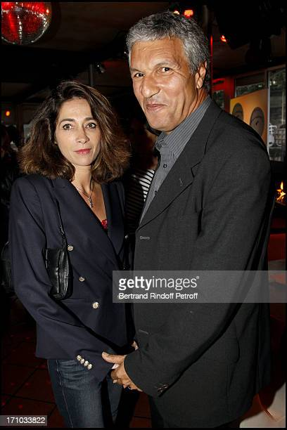 Rachid Arab and his wife at Launch Of Web Site Of Drunk Driving Awareness Association Ferdinand Chesnais