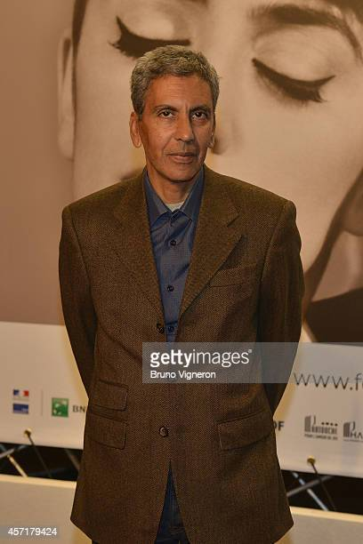 Rachid Bouchareb attends the Tribute To Faye Dunaway at the Opening Ceremony of the 6th Lyon Festival on October 13 2014 in Lyon France