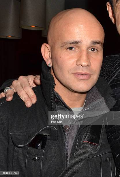 Rachid Ferrache attends the Eric Tibusch Spring/Summer 2013 HauteCouture show afterparty as part of Paris Fashion Week at Hotel Renaissance on...
