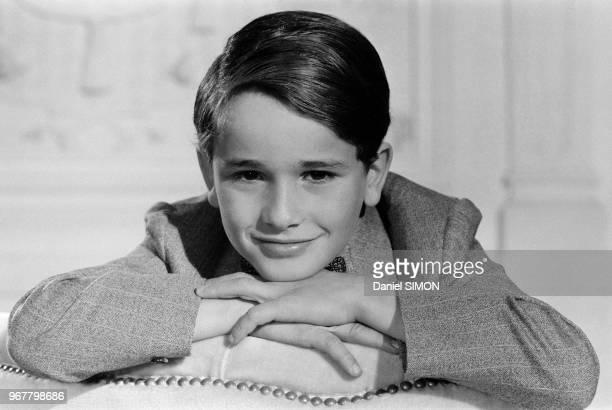 Rachid Ferrache, jeune acteur du film 'L'As des as' réalisé par Gérard Oury le 30 avril 1982 à Muncih, Allemagne.