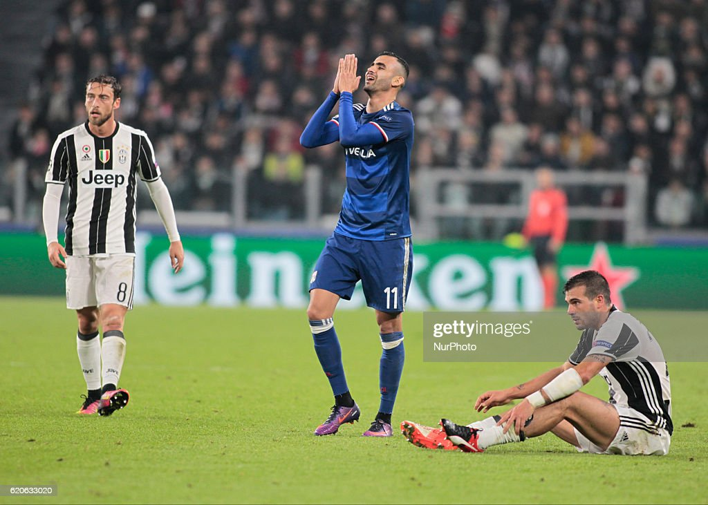Juventus v Olympique Lyonnais - UEFA Champions League : News Photo