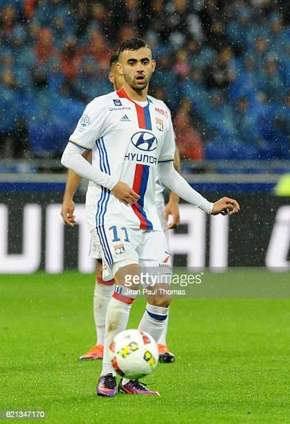 Rachid GHEZZAL of Lyon during the Ligue 1 match between Olympique Lyonnais and SC Bastia at Stade de Gerland on November 5 2016 in Lyon France