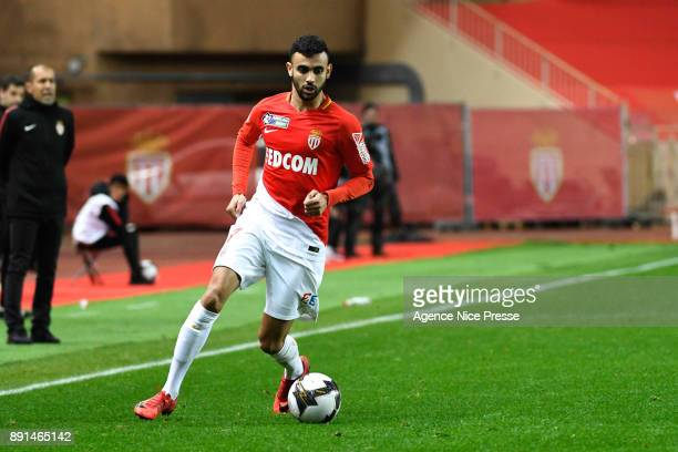 Rachid Ghezzal of Monaco during the french League Cup match Round of 16 between Monaco and Caen on December 12 2017 in Monaco Monaco
