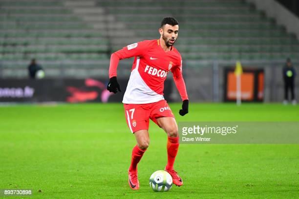 Rachid Ghezzal of Monaco during the Ligue 1 match between AS SaintEtienne and AS Monaco at Stade GeoffroyGuichard on December 15 2017 in SaintEtienne...