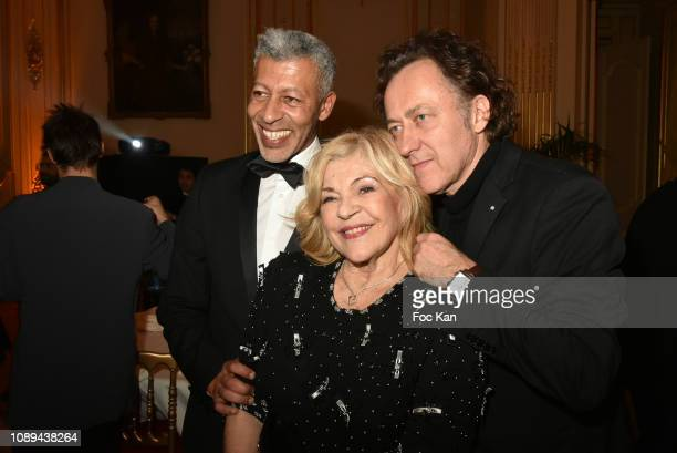 Rachid M'Barki Nicoletta and Jean Christophe Molinier attend the The Best Awards 42nd Edition at Cercle Interallie on January 25 2019 in Paris France