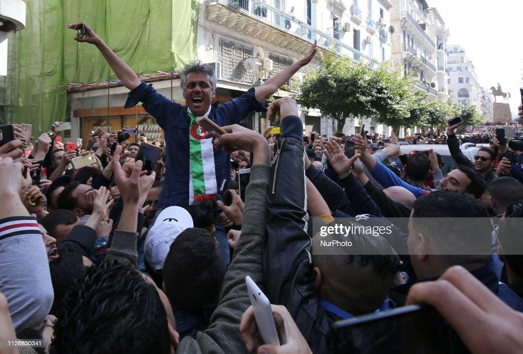 DZA: Algerian Presidential Election: Rachid Nekkaz Rally In Algiers