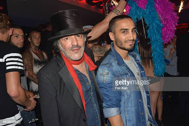 Rachid Taha attends the VIP Room JW Marriott Day 7 at the 67th Annual Cannes Film Festival>> on May 20 2014 in Cannes France