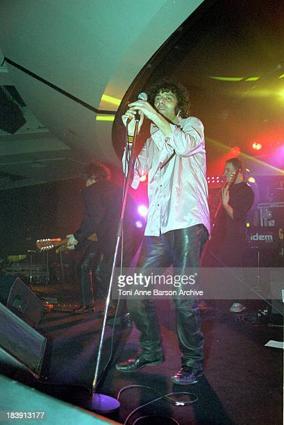 Rachid Taha during MIDEM 2001 The International Music Market Opening Evening France Influence at Palais des Festivals in Cannes France