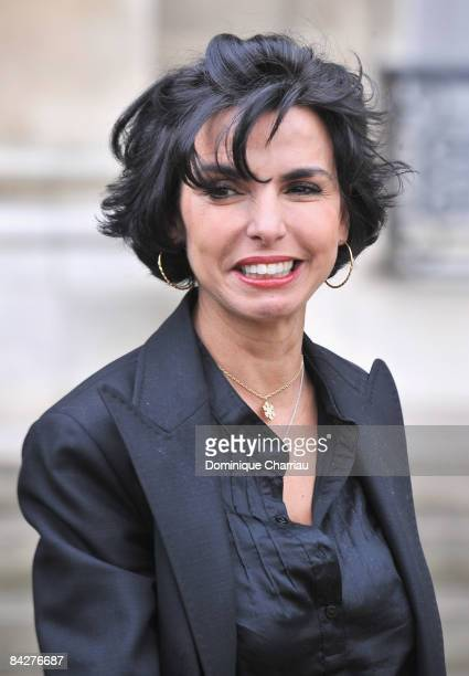 Rachida Dati Keeper of the Seals Minister of Justice attends Weekly French Cabinet Meeting at Elysee Palace on January 13 2009 in Paris