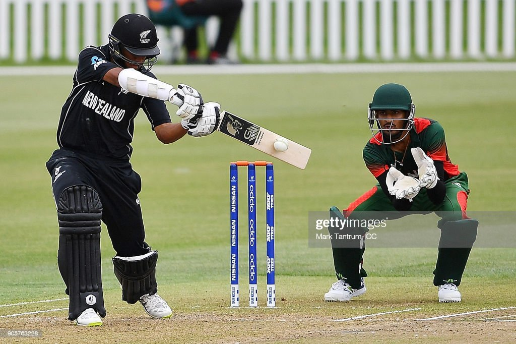 ICC U19 Cricket World Cup - New Zealand v Kenya