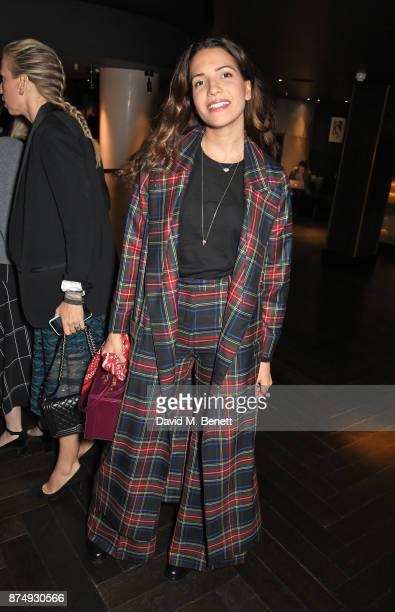 Racil Chalhoub attends the Women for Women International's #SheInspiresMe lunch at Quaglino's on November 16 2017 in London England