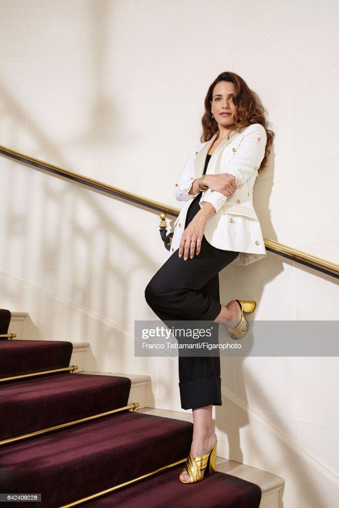 Racil Chalhoub, Madame Figaro, February 3, 2017 : News Photo