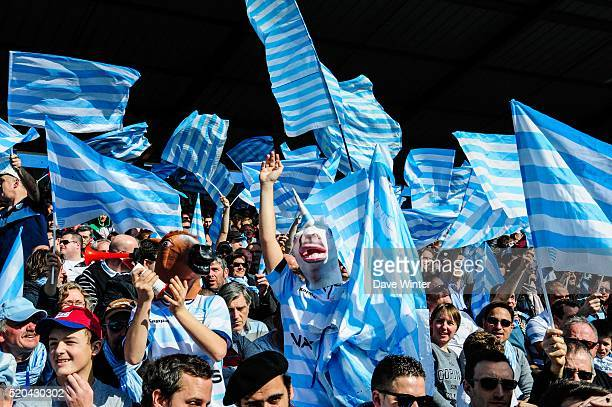 Racing Fans During European Rugby Champions