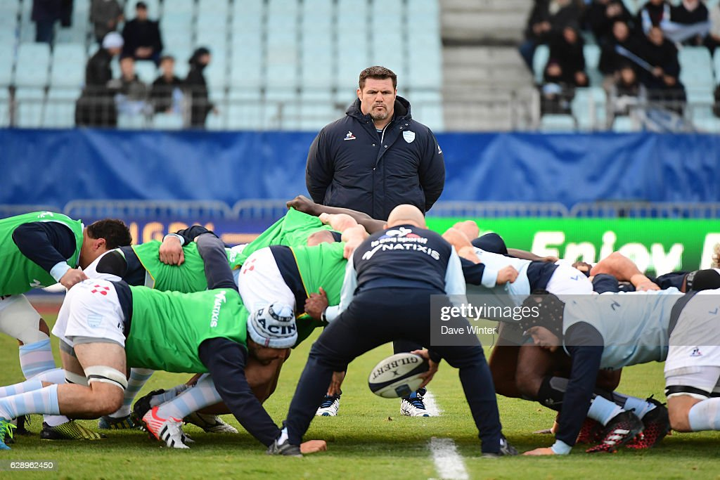 Racing 92 v Glasgow Warriors - European Champions Cup