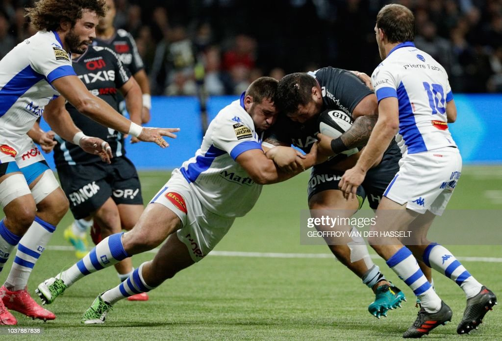 RUGBYU-FRA-TOP14-RACING-CASTRES : News Photo
