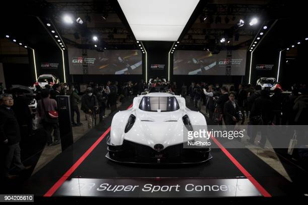 Racing and TOYOTA MOTOR CORPORATION unveil the GR Super Sport Concept a concept car that incorporates hybrid technology honed through participation...