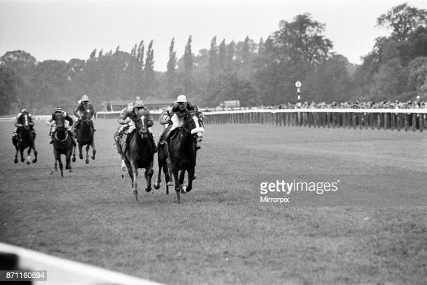 Racing at Windsor race course, 30th July 1962.