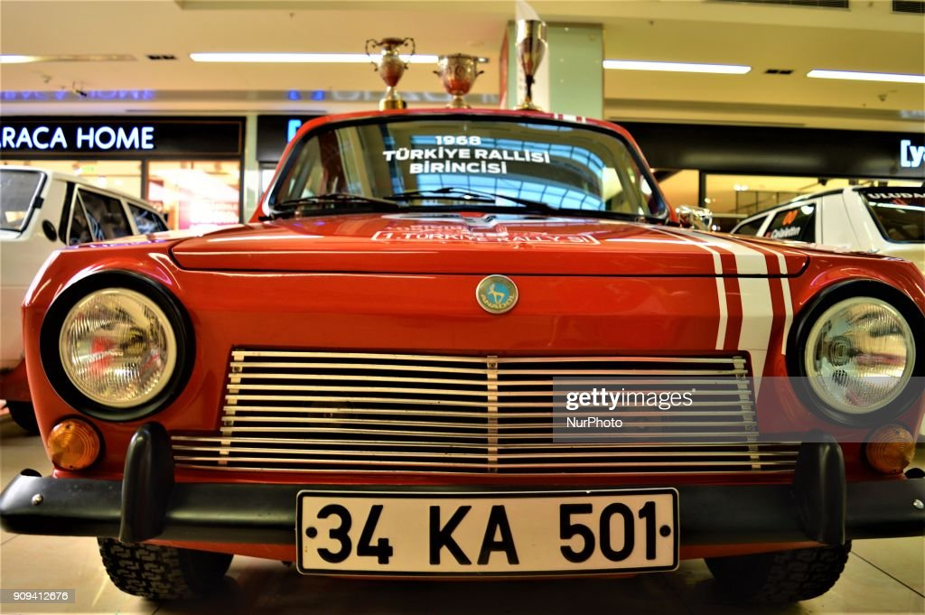 Retro Rally Racing Exhibition in Ankara Photos and Images | Getty Images