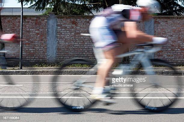 Racing Fahrrad. Color Image