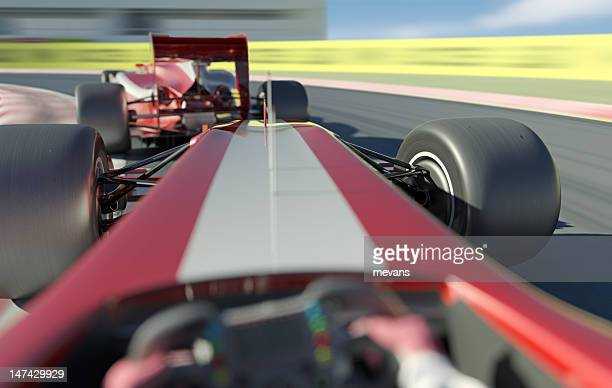 racing cars - following stock pictures, royalty-free photos & images