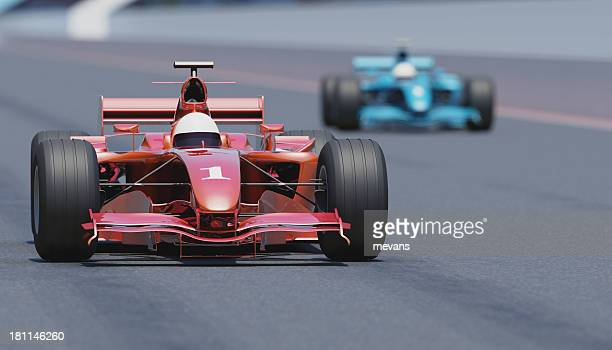 racing cars - grand prix motor racing stock pictures, royalty-free photos & images