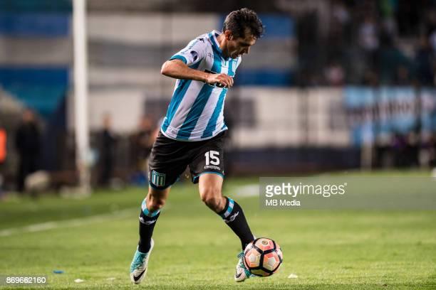 NOVEMBER 01 Racing Club Augusto Jorge Solari during the Copa Sudamericana quarterfinals 2nd leg match between Racing Club de Avellaneda and Club...