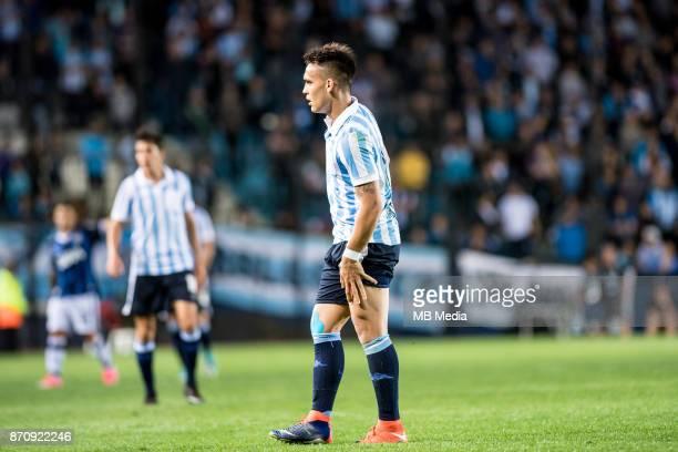 NOVEMBER 04 *Racing Club Lautaro Martínez during the superliga Argentina match between Racing Club de Avellaneda and Talleres de Córdoba at Estadio...