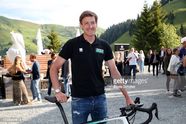 Racing cyclist Marcus Burghardt during the first Ladies Day and start of the Queens Club hosted by Maria HoeflRiesch on June 26 2020 at Berggasthof...