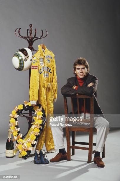 Racing driver Paul Stewart of Great Britain and son of former three time Formula One Grand Prix world champion Jackie Stewart poses for a portrait on...