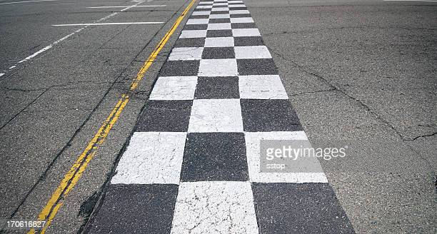 racing finish-line - finish line stock pictures, royalty-free photos & images