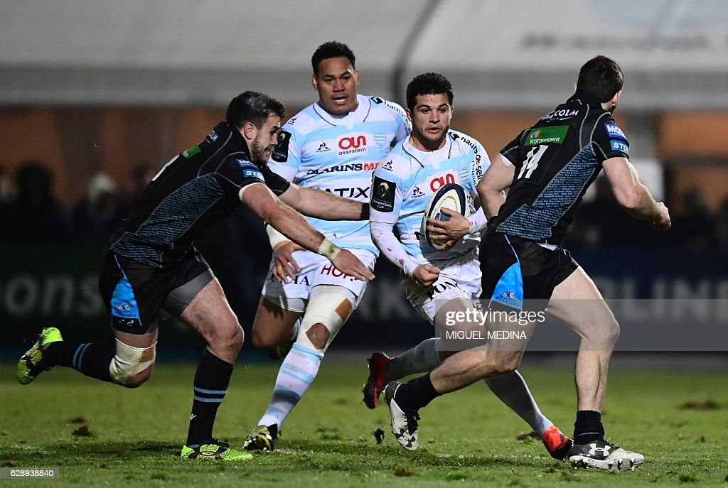 Racing 92 v Glasgow Warriors - European Rugby Champions Cup
