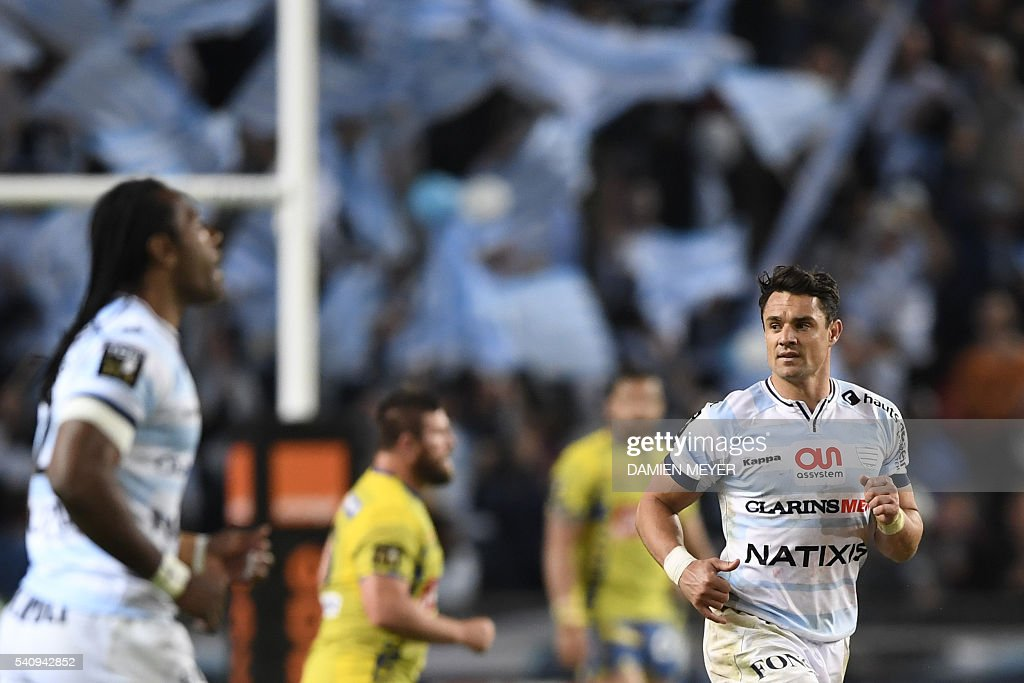 RUGBYU-FRA-TOP14-CLERMONT-RACING92 : News Photo
