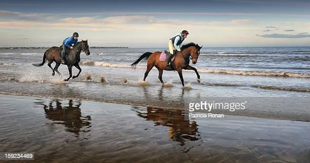 Racing on the beach 2
