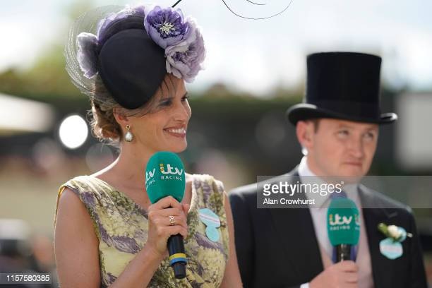 Racing's Francesca Cumani on day five of Royal Ascot at Ascot Racecourse on June 22 2019 in Ascot England