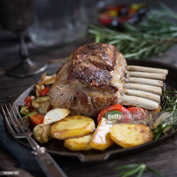 Rack of Lamb with Vegetable